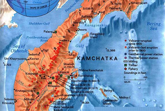 kamchatka-map-the-lost-world-572x387 Kamchatka Map on volga river map, novaya zemlya map, kolyma river map, kola peninsula, volgograd map, white sea map, north equatorial map, sea of okhotsk map, sea of okhotsk, russia map, lake baikal, mainland asia map, saint petersburg, bougainville trench map, don river, bering strait, chukchi peninsula map, west siberian plain, kuril islands, caucasus map, the antarctic circle map, iceland map, russian far east, bering sea map, aral sea map, ob river map, kunashir island map, lake baikal map, klyuchevskaya sopka, malay peninsula map, aleutian islands,